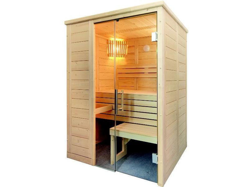 Sauna Bausatz ALASKA MINI 160x110cm - Saunakabine