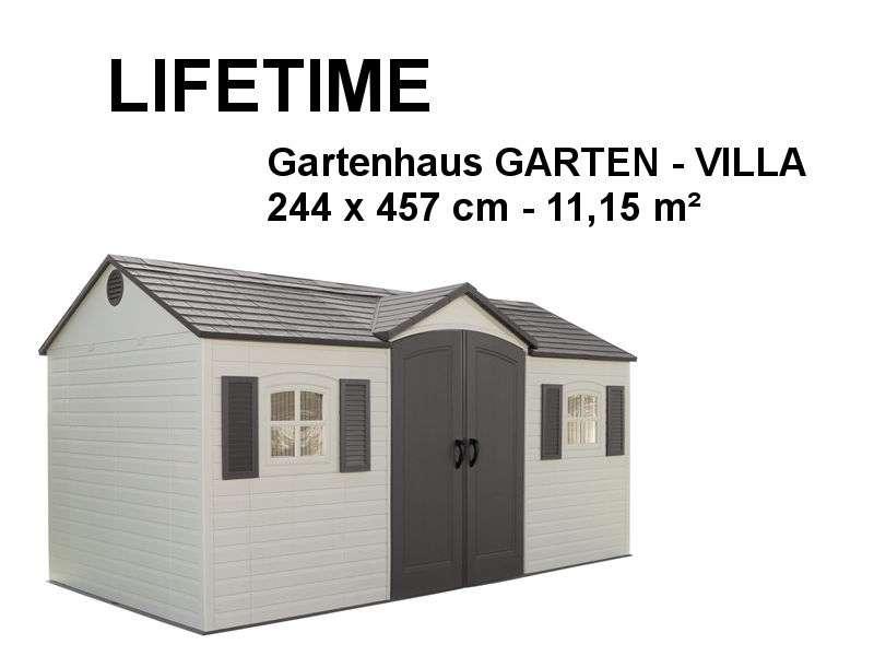 LIFETIME Gerätehaus Gartenhaus GART | Haus Gartenwelt.at