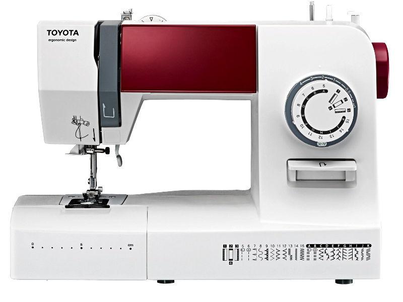 Toyota Nähmaschine mit 26 Stichen für Hobbyschneider