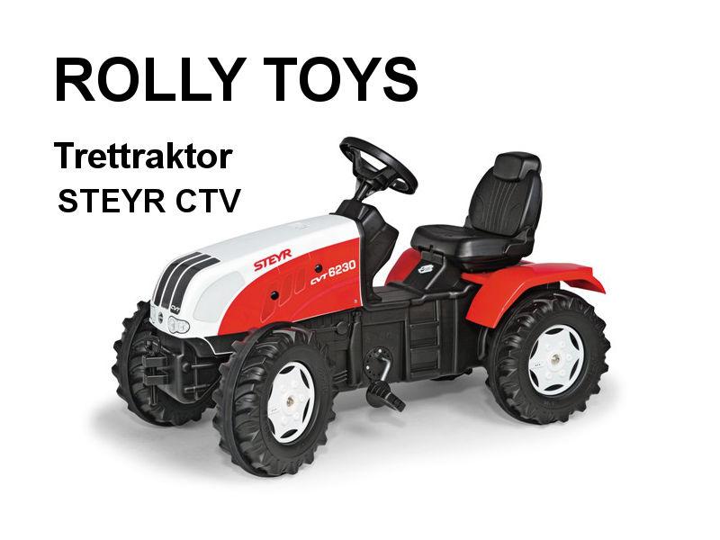 Trettraktor Farmtrac STEYR CVT 6225 von rolly toys