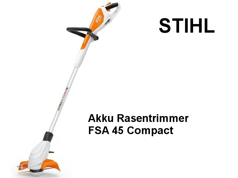 stihl akku rasen trimmer fsa 45 com haus. Black Bedroom Furniture Sets. Home Design Ideas