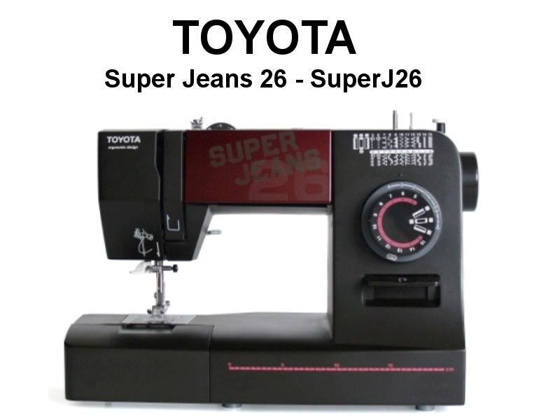 toyota n hmaschine super jeans 26 haus. Black Bedroom Furniture Sets. Home Design Ideas