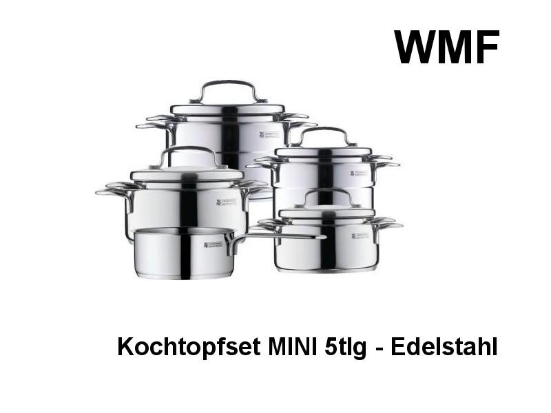 Edelstahl Topfset Mini 5tlg., 07 9856 6040