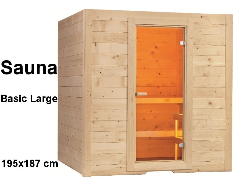 sentiotec sauna bausatz basic large haus. Black Bedroom Furniture Sets. Home Design Ideas