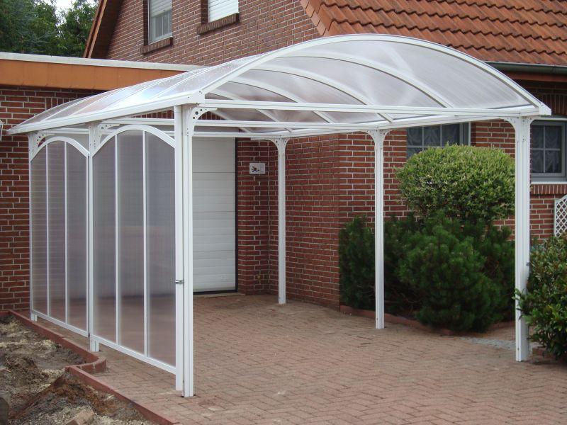 KGT Aluminium Carport ELBE weiß RAL... | Haus-Gartenwelt.at
