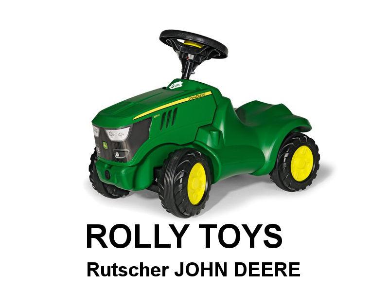 Minitrac Rutscher JOHN DEERE 6150R von rolly toys