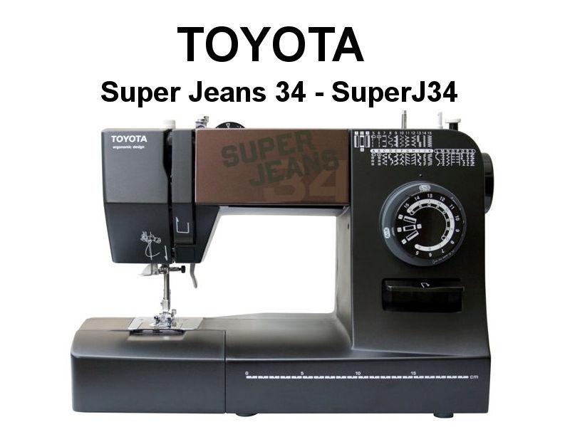 toyota n hmaschine super jeans 34 haus. Black Bedroom Furniture Sets. Home Design Ideas