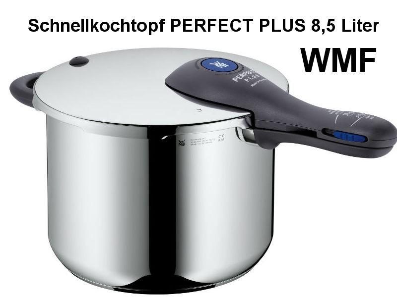 Schnellkochtopf PERFECT PLUS 8,5 L mit Einsatz