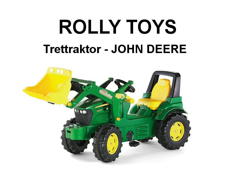 Trettraktor Farmtrac JOHN DEERE 7930 mit Lader von rolly toys