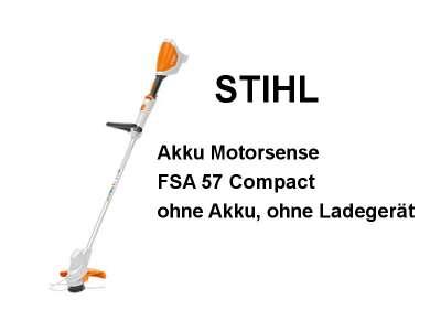 Stihl FSA 57 ohne Akku und Ladegerät