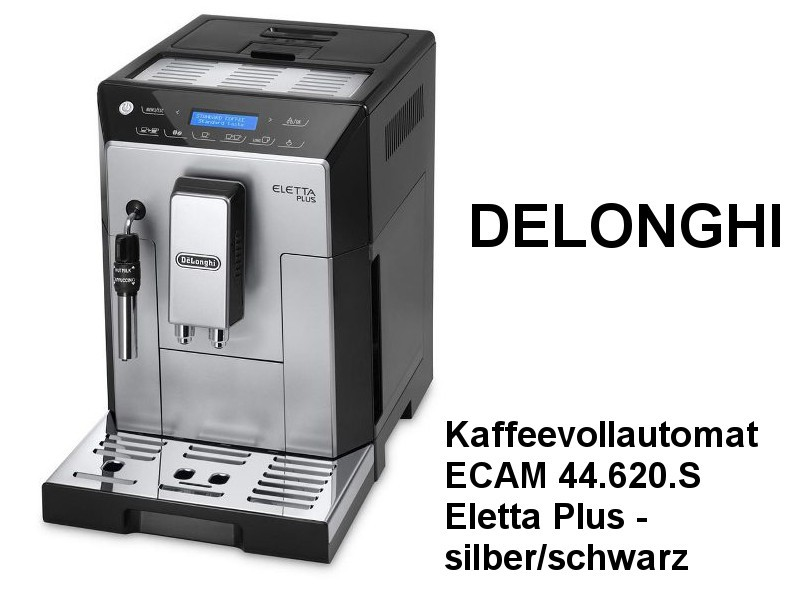 Kaffeevollautomat ECAM 44.620.S Eletta Plus - Silber/Schwarz
