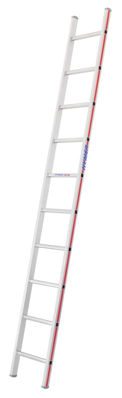 4011 Alu Sprossenleiter - Anlegeleiter 10 Sprossen 401110