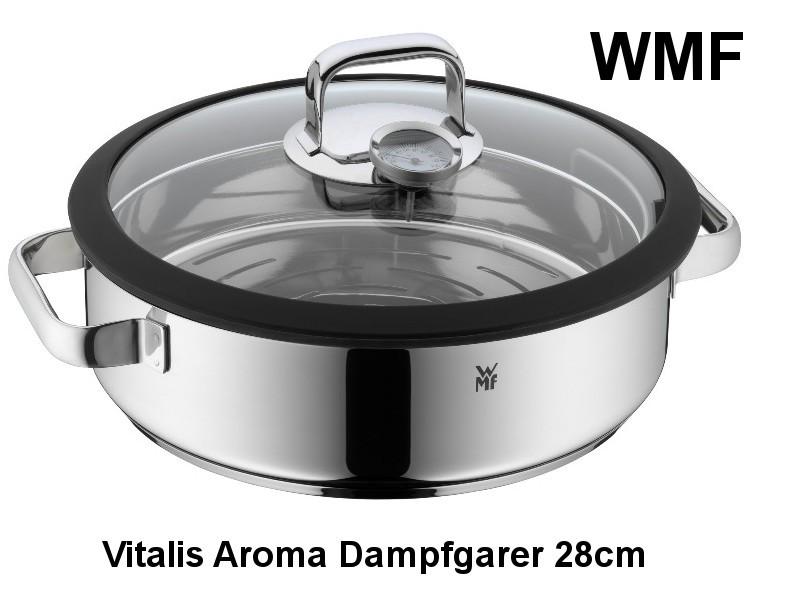 Vitalis Aroma Dampfgarer 28cm rund